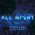 Carátula de: All night
