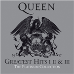Carátula de: Queen Greatest hits I, II y  III. The platinum collection