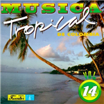 Carátula de: Música tropical de Colombia Vol. 14