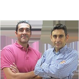 Andrés Egea y José Antonio Vera