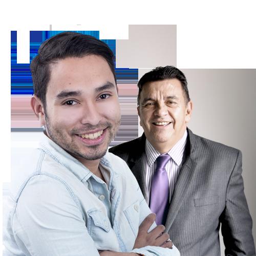 Steven Arce y Rafael Villegas