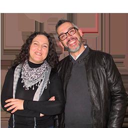 Paco Sánchez y Maica Sánchez