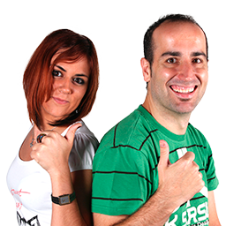 Iván Martín y Verónica Gómez