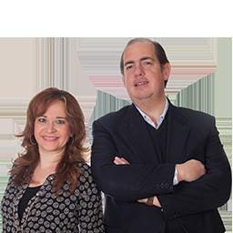 Eugenio Camacho y Mabel Morcillo