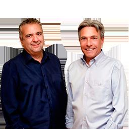 Amadeo Salvador y Arturo Blay