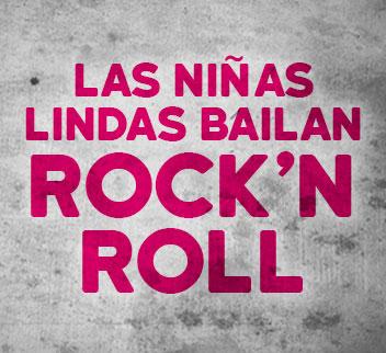 Imagen de Las Niñas Lindas bailan Rock N Roll