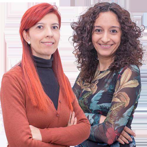 Sílvia Tejedor y Sonia Castelló