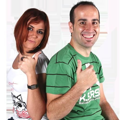 Iván Martín y Veronica Gómez