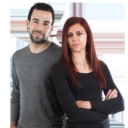 Veronica Gomez y Jon Egaña