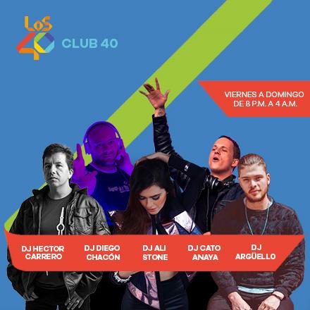 Club 40 (28/04/2018 - Tramo de 23:00 a 23:59)