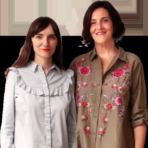 Ángeles Oliva y Toña Medina