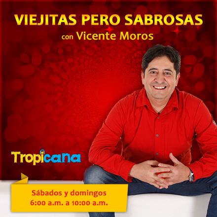 Viejitas pero sabrosas con Vicente Moros (14/07/2018 - Tramo de 08:00 a 09:00)