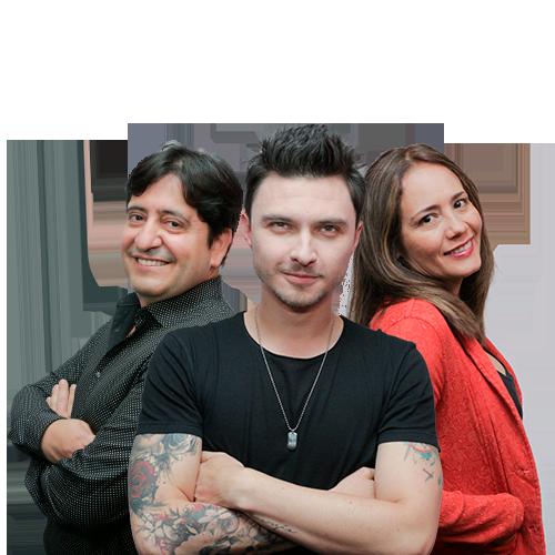 Aleyda Salcedo, Diego Sáenz - Vicente Moros