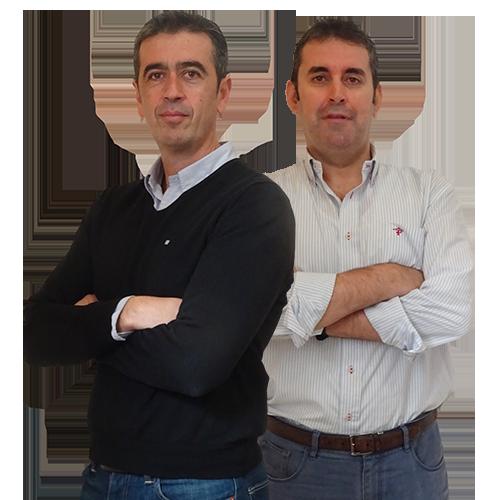 Manolo Aguilar y Florencio Ordóñez