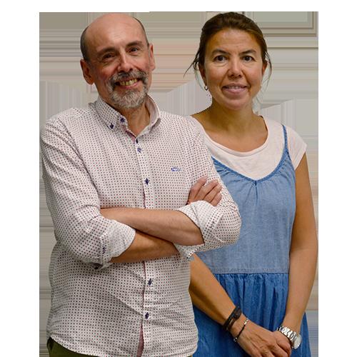 Juan Francisco Rojo y Beatriz Álvarez