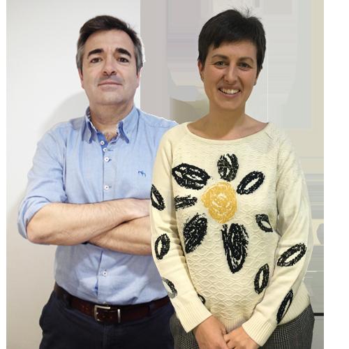 Pepe Lasmarias y Ana Sánchez Borroy