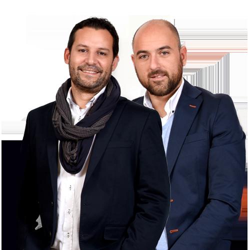 Carlos Martínez y Fran Guaita
