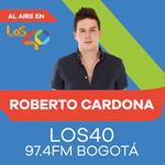 Escucha Música 40 con Roberto Cardona en LOS40 Colombia