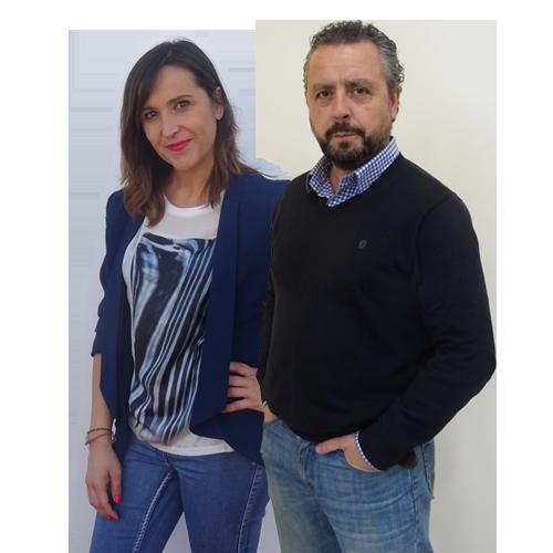 Lourdes Luque y Paco García