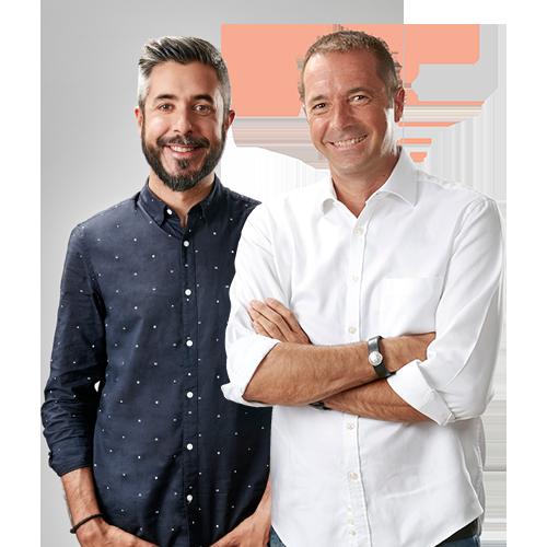 Dani Garrido y Manu Carreño