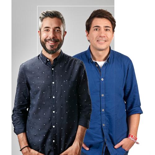 Dani Garrido y Yago de Vega