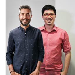 Dani Garrido y Álvaro Benito