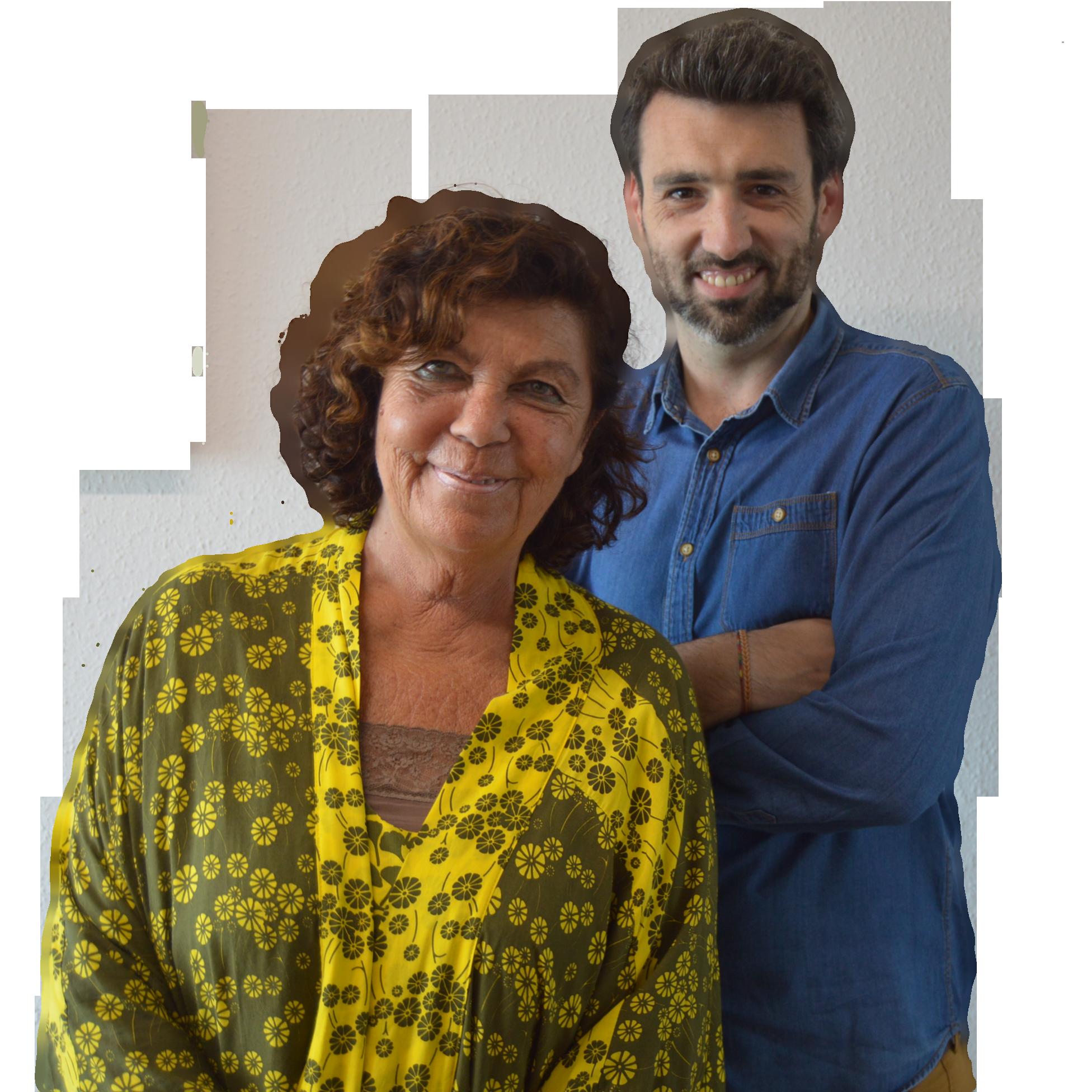Guillermina Caso y Josu Alonso