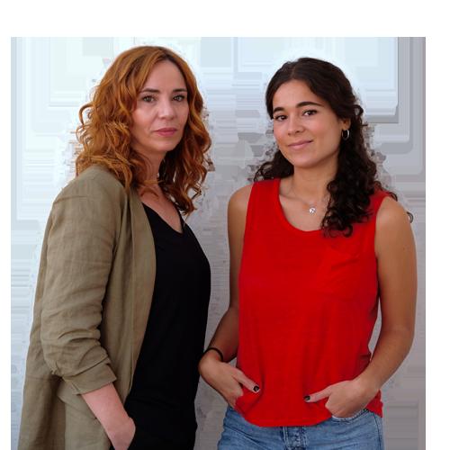 Ángela Quintas e Isabel Bolaño