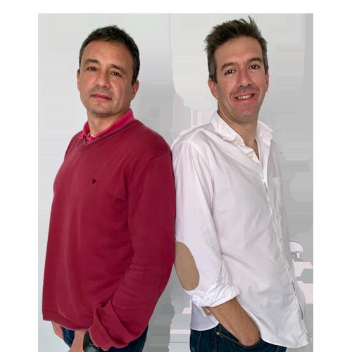 Justo Rodríguez y Enrique Aparicio