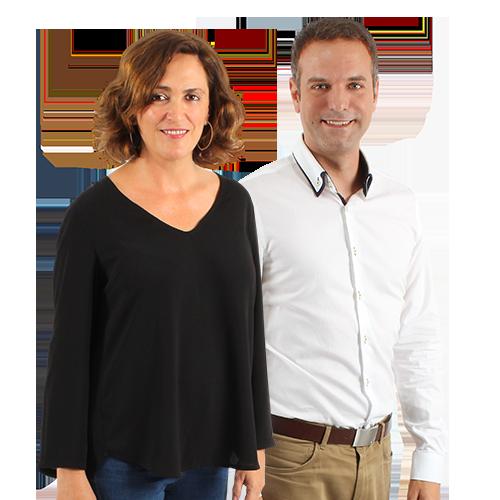 Inma Pardo y Santiago Botella