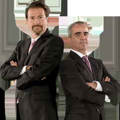 Eduardo Videgaray y José Ramón Sancristóbal