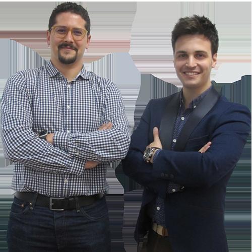 José Antonio Sánchez y Rubén González