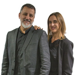 David Botello y Esther Sánchez