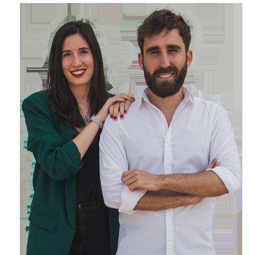 Aitor Albizua y Julia Molina