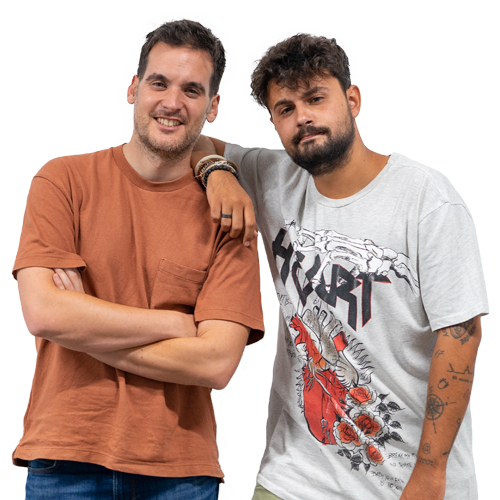 Julio Muñoz y Juan Amodeo