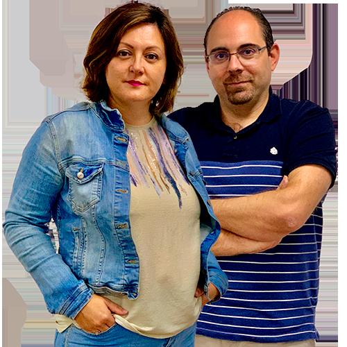 Ruth García y Juanjo Asensio
