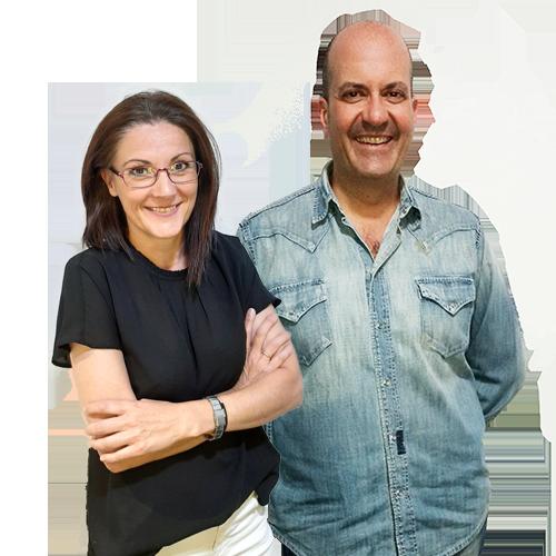 Mónica Farré y Juanjo Hernández