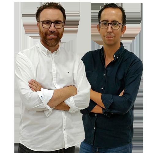 José Manuel León y José María Martín