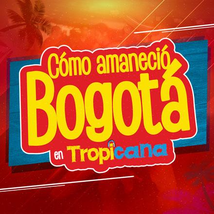 Cómo amaneció Bogotá