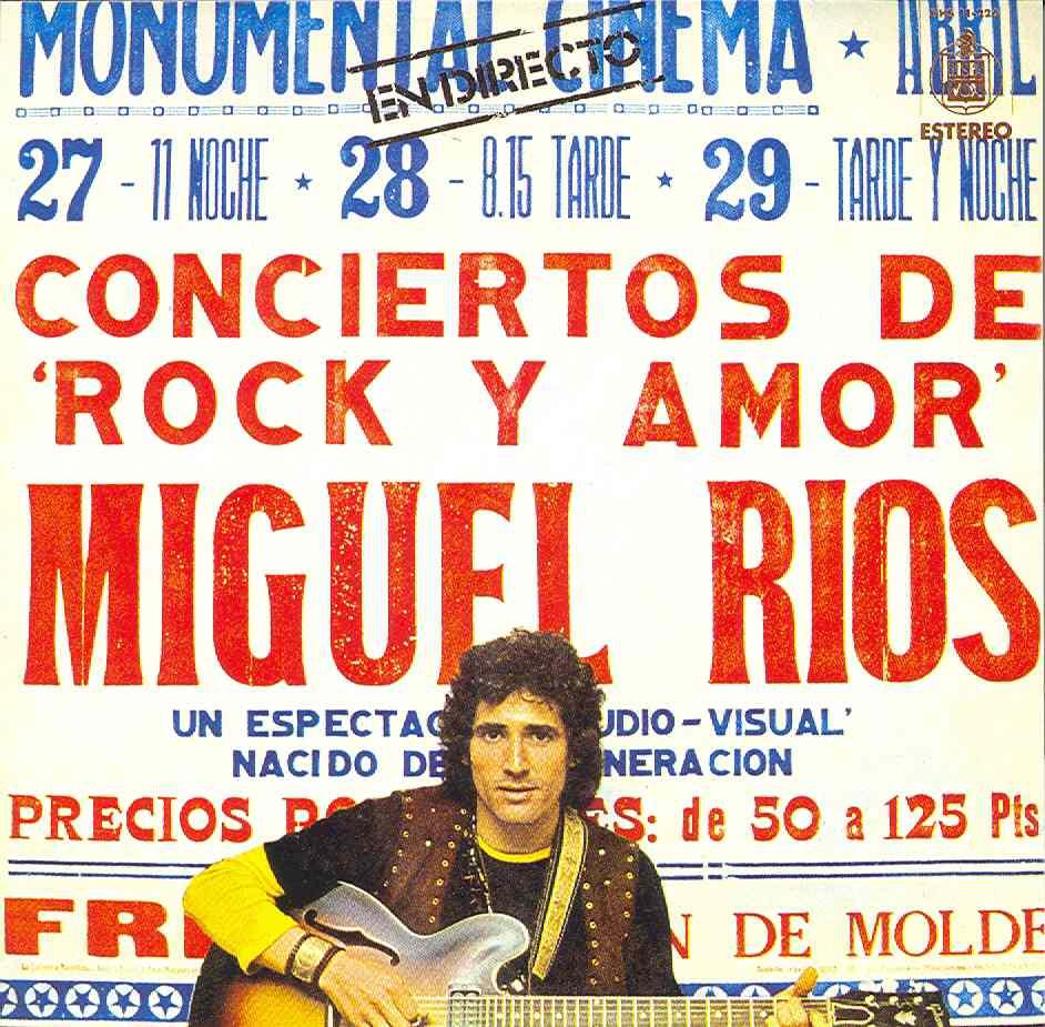 Conciertos de rock y amor en directo