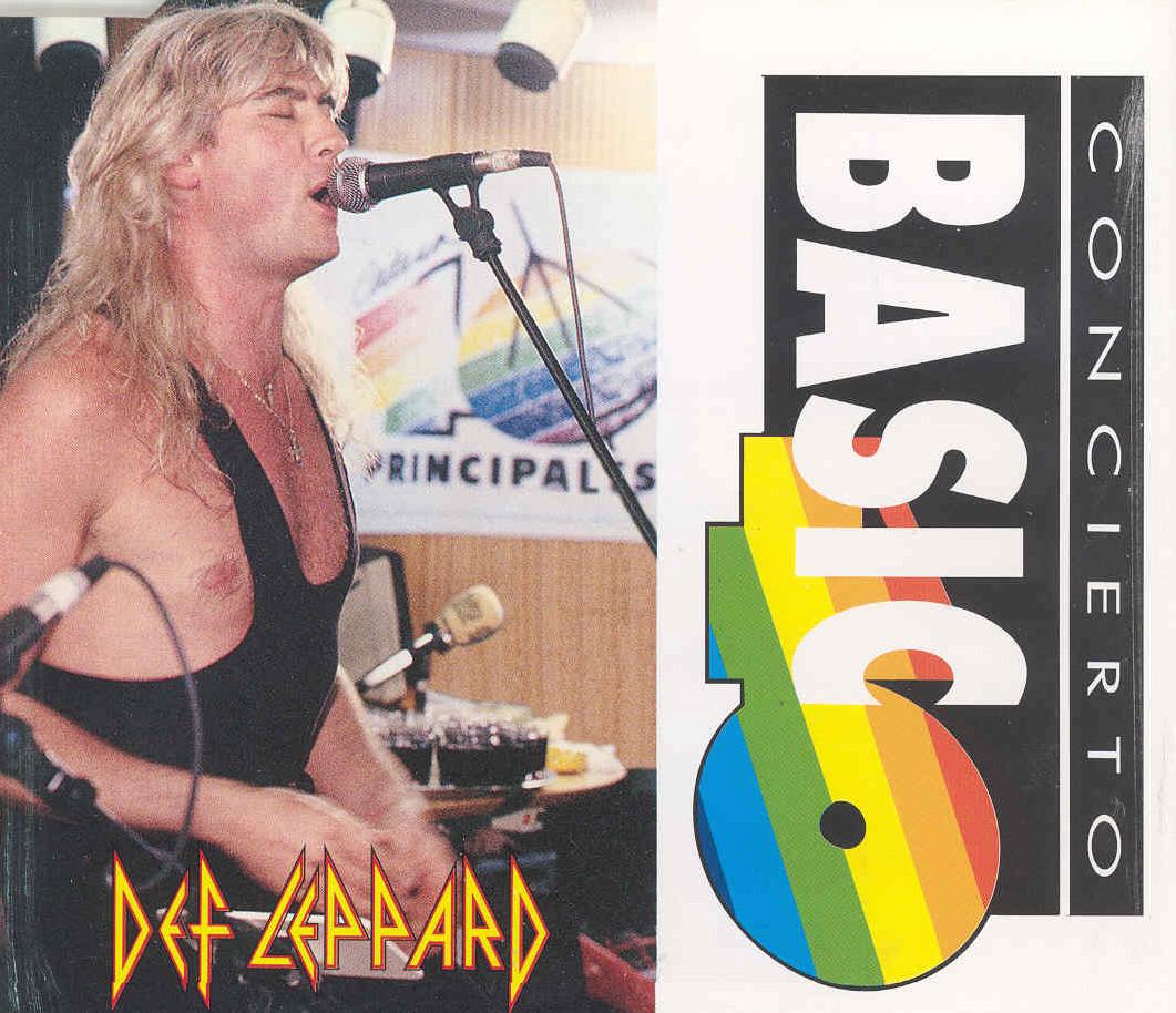 Concierto básico 40 (Edición especial 40): Def Leppard