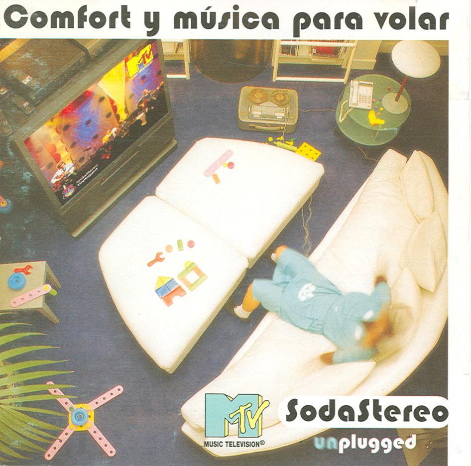 Comfort y música para volar