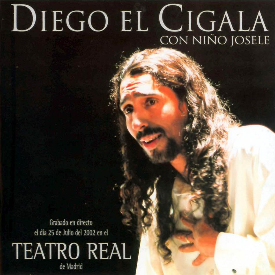 Diego El Cigala con Niño Josele directo en El Teatro Real