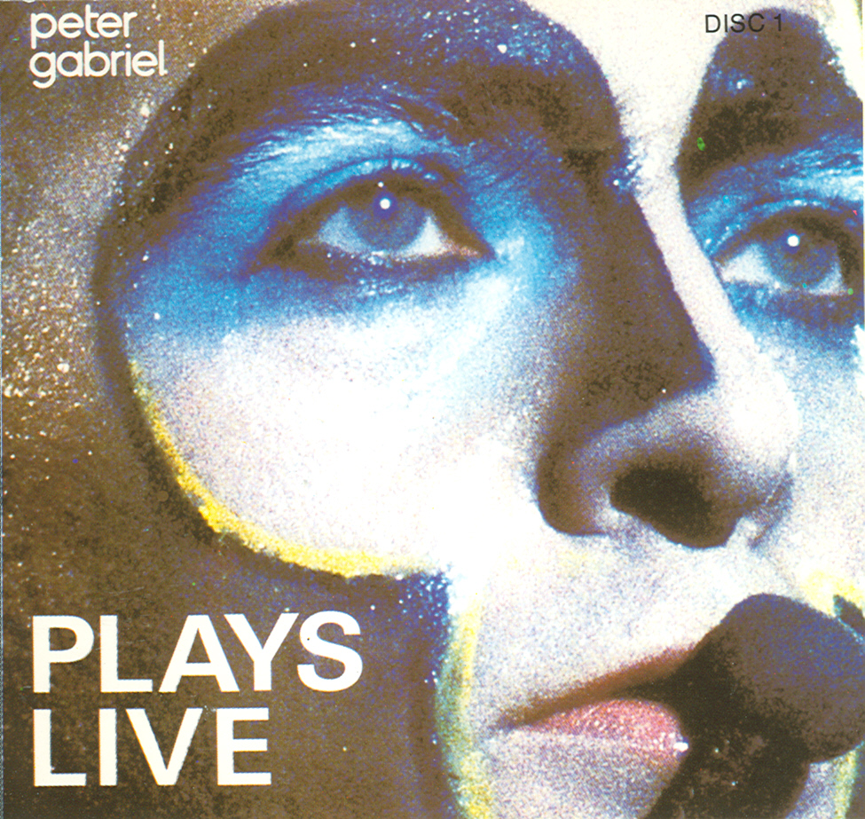 Peter Gabriel plays live