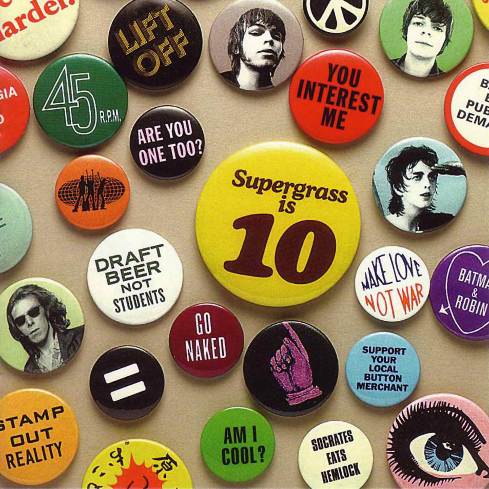 Supergrass is 10: The best of 94-04'