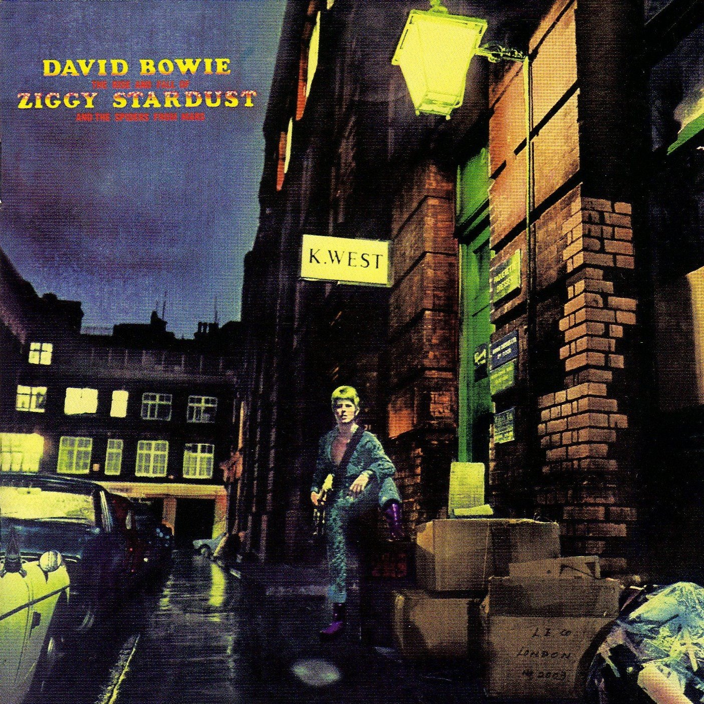 The rise and fall of Ziggy Stardust and the spiders from Mars (30th anniversary edition)