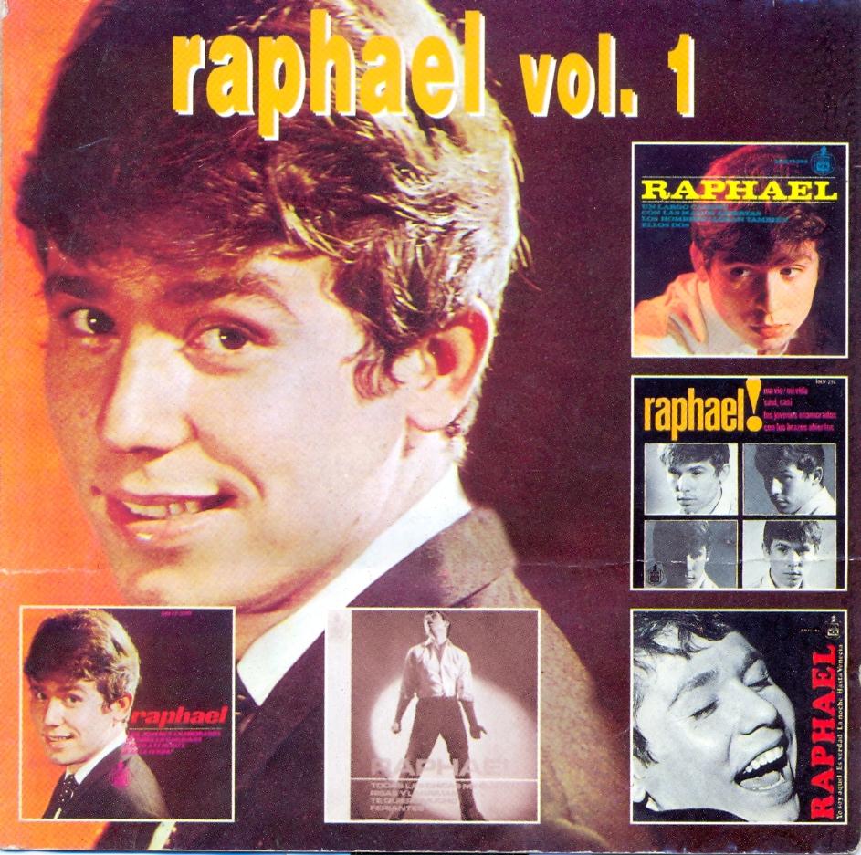 Los EP's originales de Raphael Vol. 1