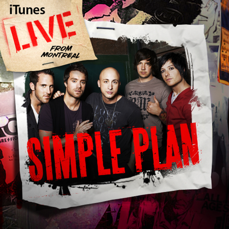 iTunes live from Montreal: Simple Plan