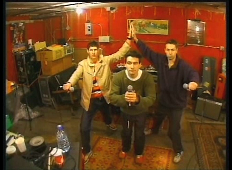 Three MC'S and a DJ