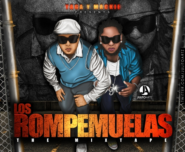 Los Rompemuelas The mixtape